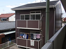 愛知県名古屋市西区清里町の賃貸アパートの外観