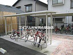岡山県岡山市南区東畦丁目なしの賃貸アパートの外観