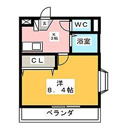 CBドリーム関山III[3階]の間取り