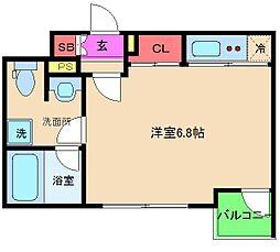 ウィステリア野田1番館[1階]の間取り