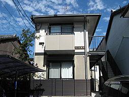 京都府京都市北区紫竹西桃ノ本町の賃貸アパートの外観