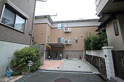 大阪府豊中市岡町北3丁目の賃貸アパートの外観