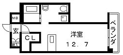 エクセルコート布施タワー[503号室号室]の間取り