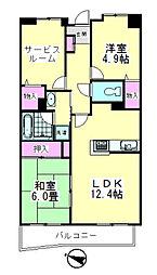 コート・ド・パルク[2階]の間取り