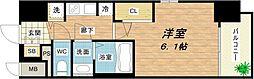 W-STYLE大阪城南[9階]の間取り