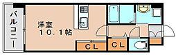 ギャラクシー県庁口[6階]の間取り