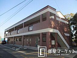 愛知県豊田市堤町宮畔の賃貸アパートの外観