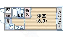 門戸厄神駅 4.2万円