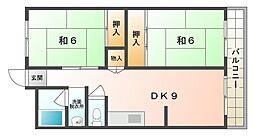 岩井マンション[2階]の間取り