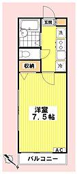 マキ沼袋[1階]の間取り