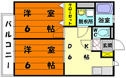 M&S 7番館[1階]の間取り