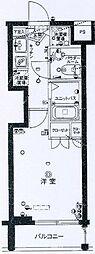 スカイコート三田慶大前壱番館[3階]の間取り