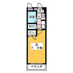 CCD霊屋下[2階]の間取り