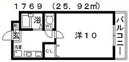 暁21・うえき[101号室号室]の間取り