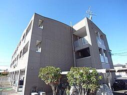 大阪府羽曳野市東阪田の賃貸マンションの外観