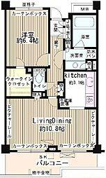 東京都世田谷区成城7丁目の賃貸マンションの間取り