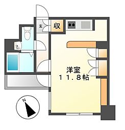 ドゥーエ大須(旧メゾン・ド・ヴィレ大須)[9階]の間取り