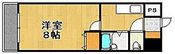 リファレンス県庁口[5階]の間取り