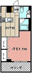 カレントII[503号室]の間取り