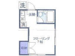 コーポ松井[2階]の間取り