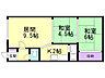 間取り,2LDK,面積42m2,賃料4.2万円,札幌市営東西線 南郷18丁目駅 徒歩5分,,北海道札幌市白石区栄通18丁目5番62号