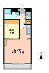アピア天塚[3階]の間取り