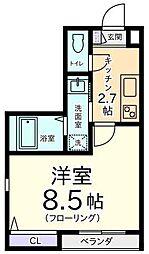 シエルエトワール[2階]の間取り