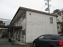 兵庫県川西市鼓が滝2丁目の賃貸アパートの外観