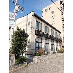 大阪府大阪市東住吉区西今川の賃貸アパートの外観