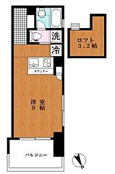 Aquila Urayasu Uno[3階]の間取り