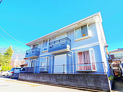 埼玉県富士見市西みずほ台1丁目の賃貸アパートの外観