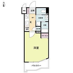 ラクラス大阪城[0101号室]の間取り