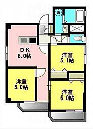 京王八王子駅より2分 ニューグリードマンション3DK