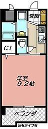 セレスタイト黒崎[510号室]の間取り