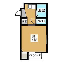 ヴィヨーム京都御所東[2階]の間取り