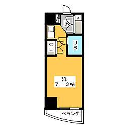 サンリヴァーメゾン[6階]の間取り