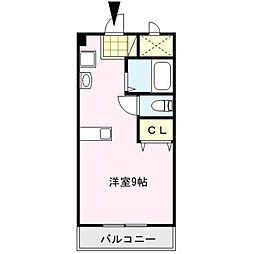 ピュアハウス[3階]の間取り