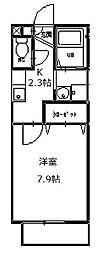 マグノリアハイツ[2階]の間取り