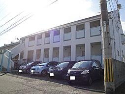 愛媛県松山市朝生田町3丁目の賃貸アパートの外観