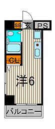 スカイコート西川口第8[4階]の間取り