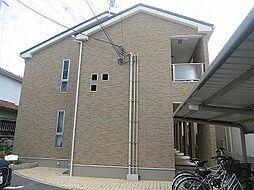大阪府茨木市上中条2丁目の賃貸アパートの外観