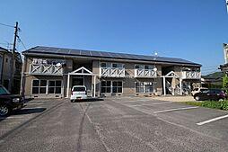 岡山県岡山市中区米田丁目なしの賃貸アパートの外観