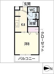 アーバンライフNIWA[2階]の間取り