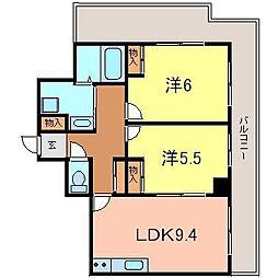 ARDEA[1401号室]の間取り