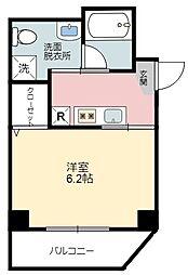 イーストワン錦糸町 4階1Kの間取り