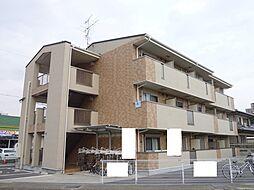 京都府城陽市寺田北東西の賃貸マンションの外観