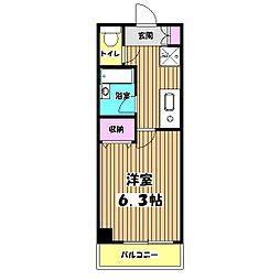 サル・ド・セジュールIII[5階]の間取り