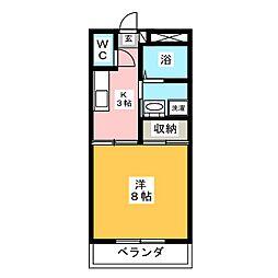 クレヨンハウス[1階]の間取り
