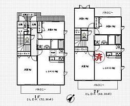 カーサベルデ4番館[411号室号室]の間取り