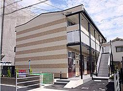 兵庫県西宮市松山町の賃貸アパートの外観